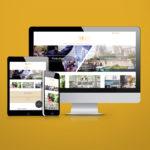 Création du site internet responsive Unik Day par l'agence web et voilà prod