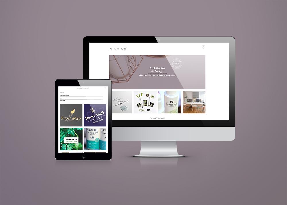 webdesign curiousd