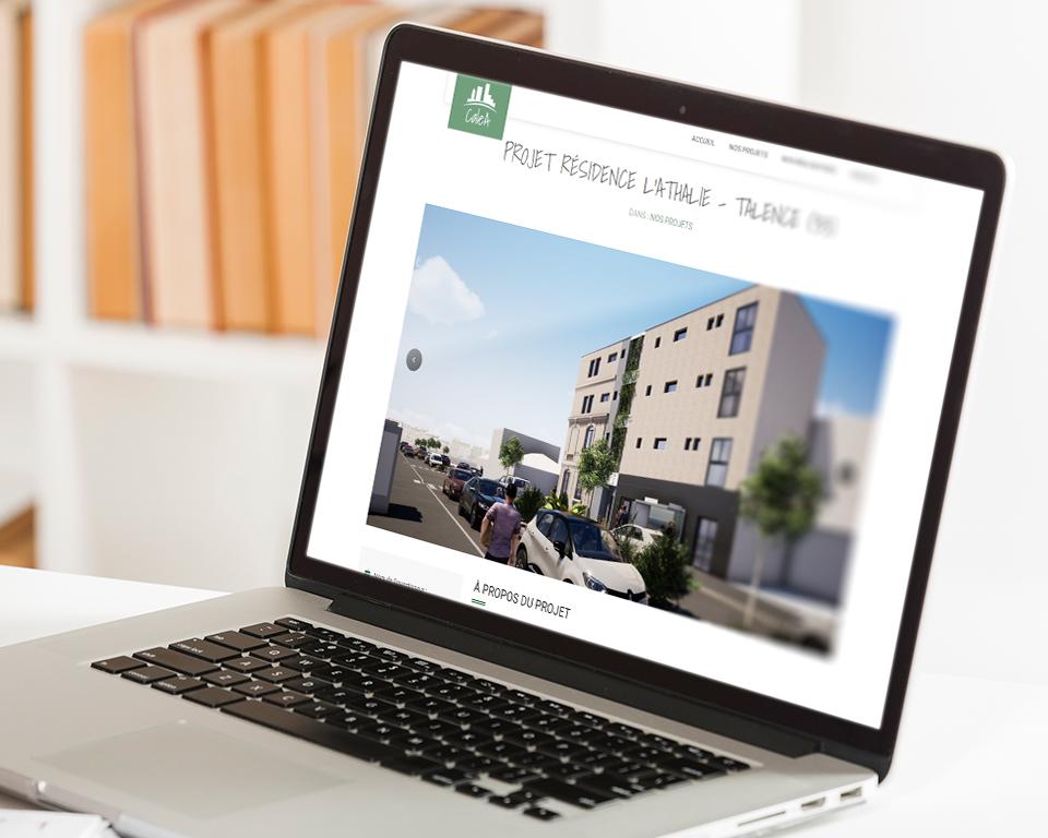 calea immobilier site internet