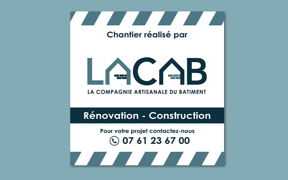 Bâche LACAB, Compagnie Artisanale du Bâtiment