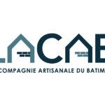 Identité visuelle LACAB, Compagnie Artisanale du Bâtiment, création logo