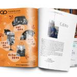 création publicité magazine bordeaux les sorties pour la grande poste par l'agence de communication et voilà prod