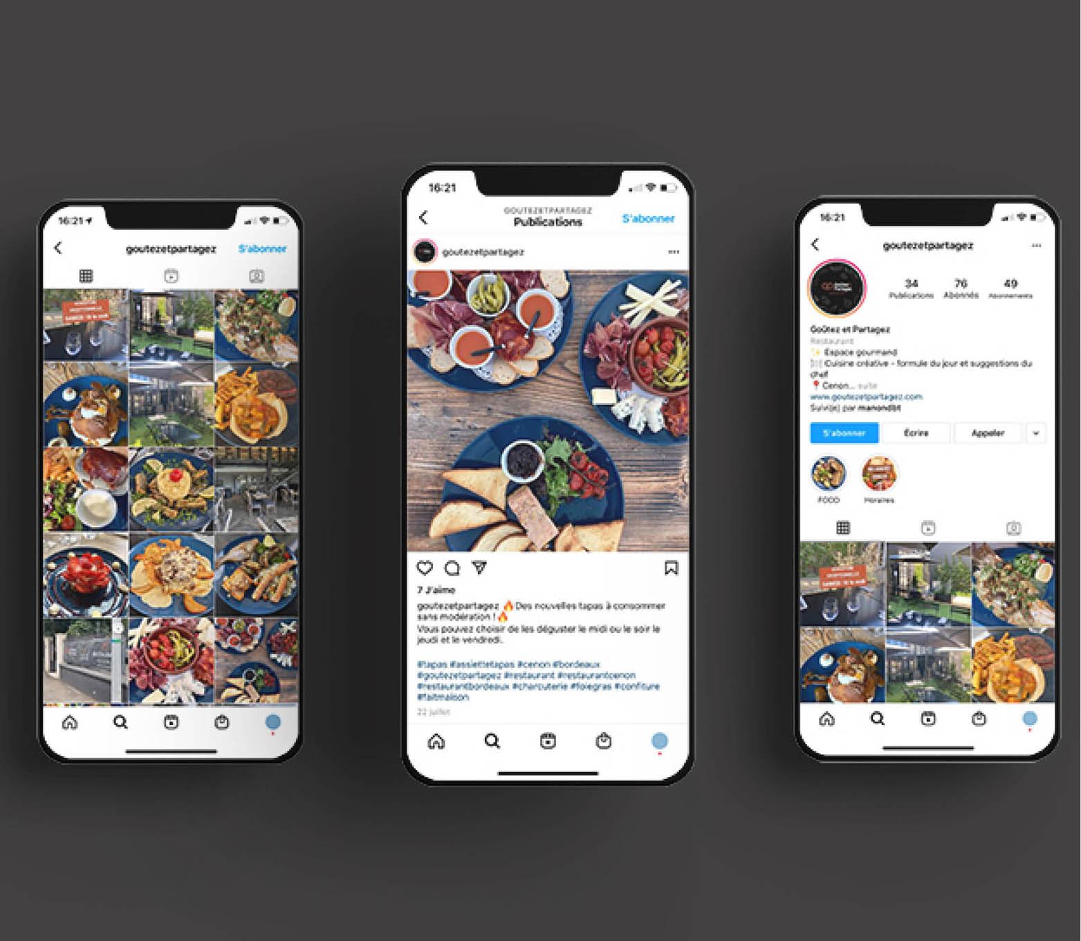 instagram Goûtez Partagez restaurant brasserie cenon proche bordeaux